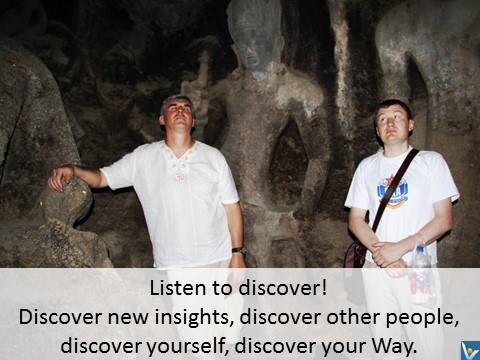 Best Listening quotes Vadim Kotelnikov Listen to discover yourself, your way